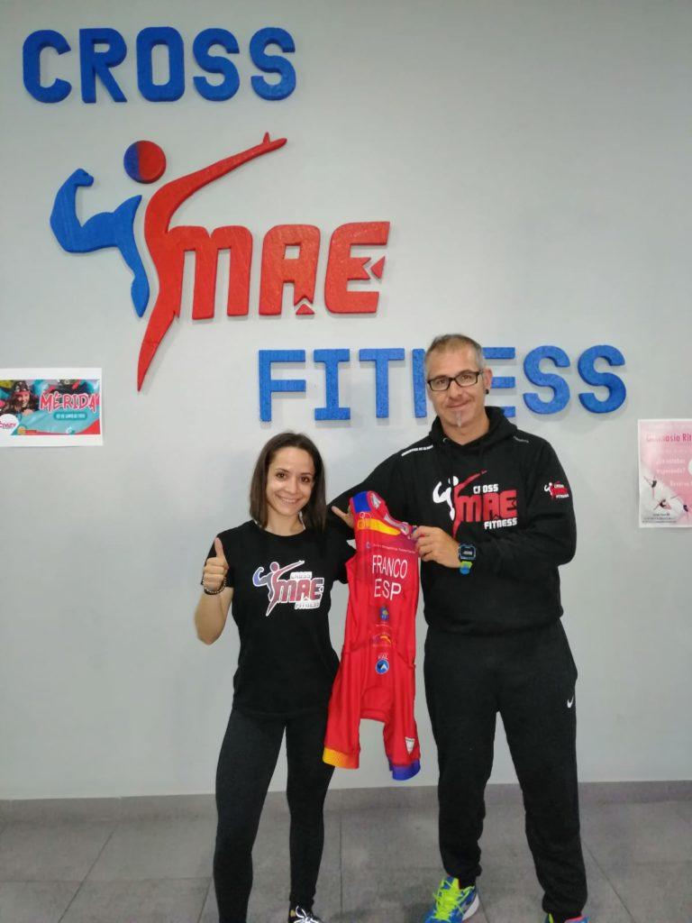 Cross MAE Fitness apoyará a Toni Franco en el Campeonato del Mundo de Acuatlón