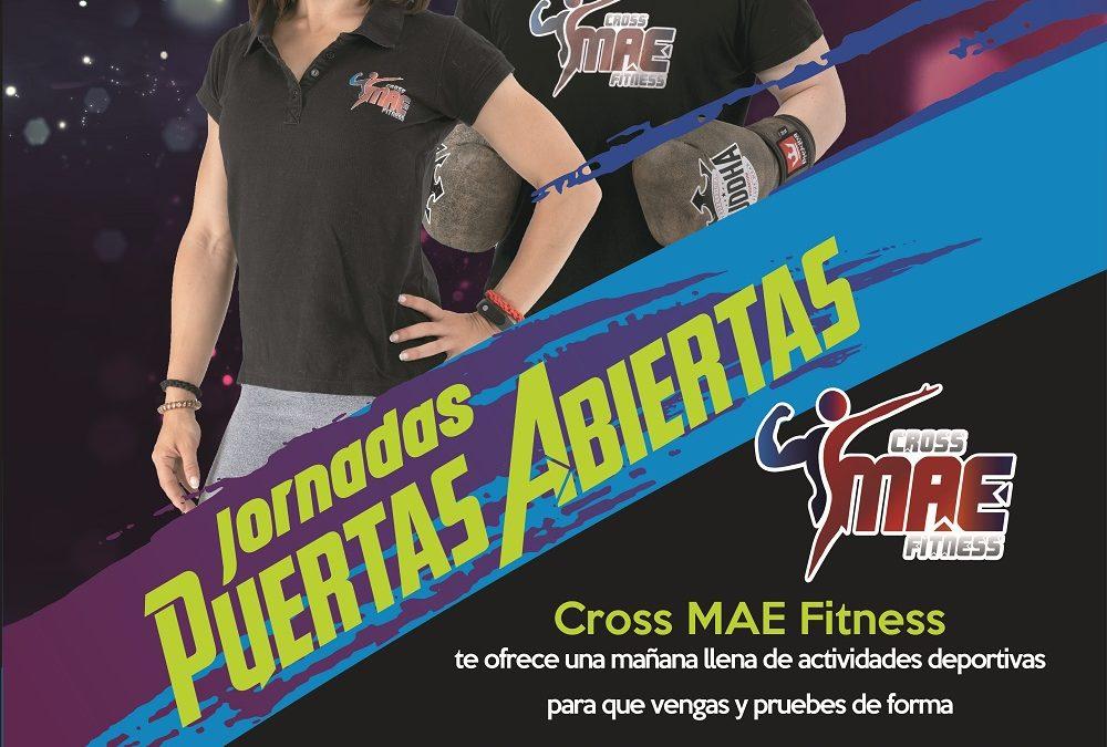 Este sábado 11 de enero, jornada de puertas abiertas en Cross MAE Fitness