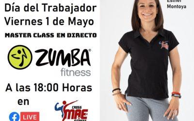 Día del Trabajador, Máster Class de Zumba online con Cross MAE Fitness