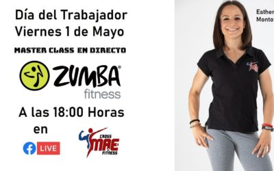 MasterClass de Zumba – Día del Trabajador – 1 de Mayo del 2020