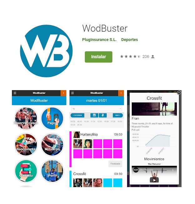 "Nueva APP ""Wodbuster"" - Cross MAE Fitness"