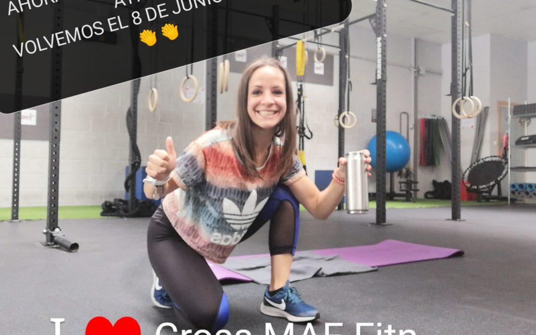 Entrenamiento G. A. P Nº52 con Esther Montoya [Covid-19]