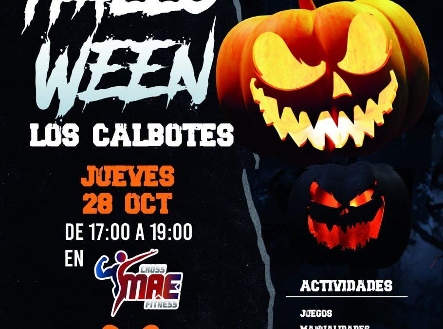 Taller de Halloween Los Calbotes en Cross MAE Fitness